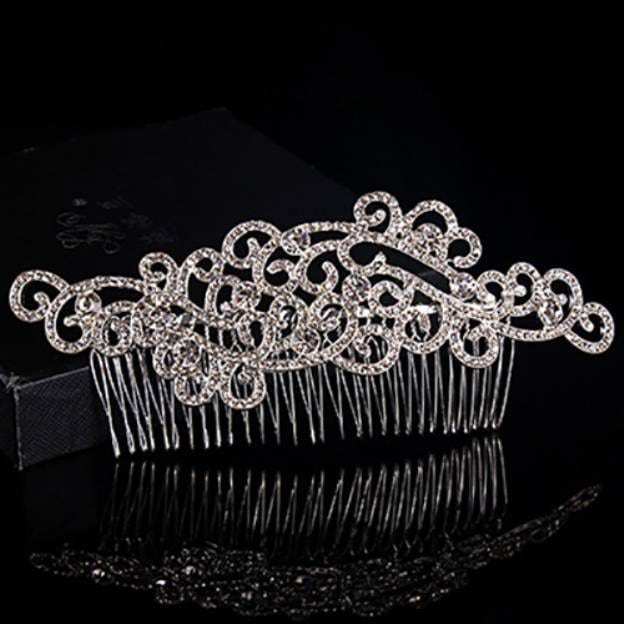 Alloy Ladies Hairpins With Rhinestone