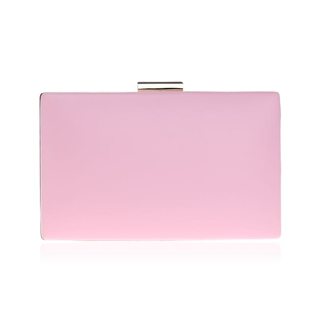 Simple PU/Alloy Clutches/Evening Bags