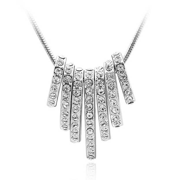 Women's Fancy Alloy Necklaces With Austrian Crystal