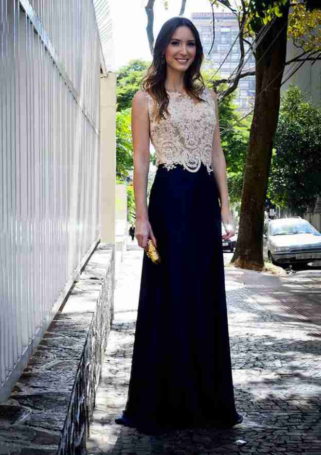 A-Line/Princess Bateau Sleeveless Sweep Train Chiffon Prom Dress With Appliqued