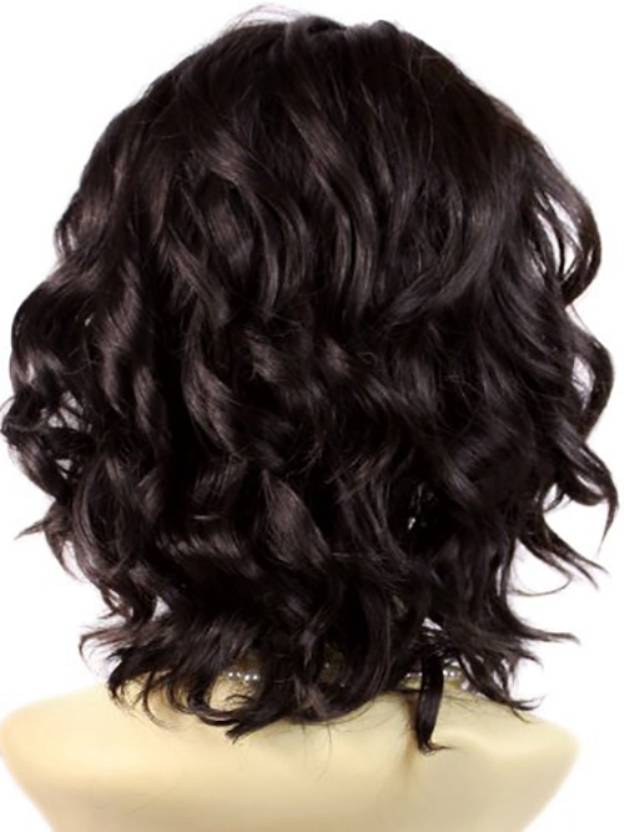 Short Wavy Capless High Quality Heat Resistant Synthetic Wigs