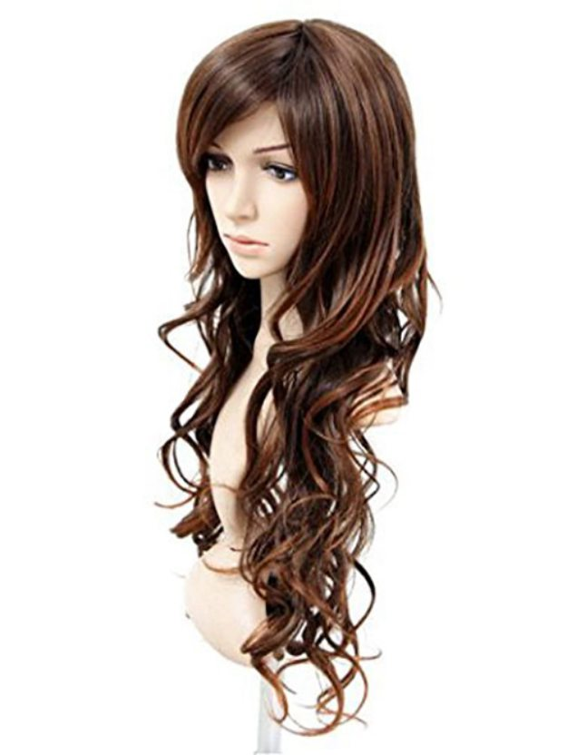 Long Wavy Capless High Quality Heat Resistant Synthetic Wigs