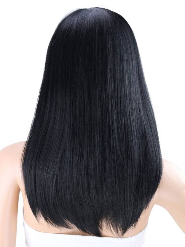 Medium Straight Capless High Quality Heat Resistant Synthetic Wigs