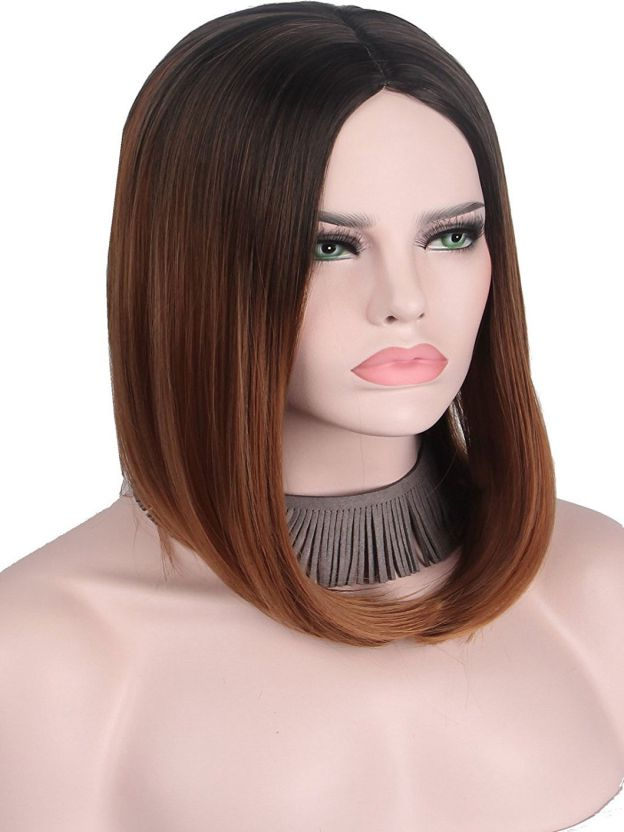 Medium Straight Lace Front High Quality Heat Resistant Synthetic Wigs