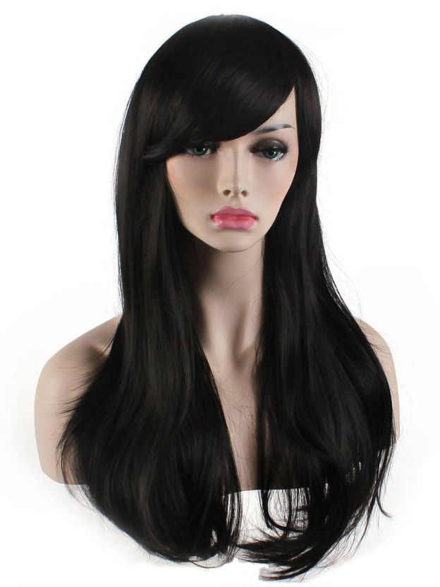 Long Straight Capless High Quality Heat Resistant Synthetic Wigs
