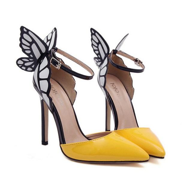 Close Toe Pumps Stiletto Heel Pu Fashion Shoes