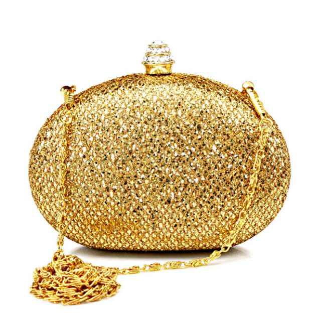 Sequin Chain Clutches Handbags