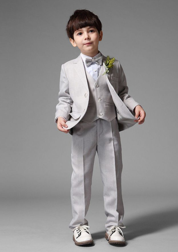 Polyester/Cotton Blend As Picture Ring Bearer Suits