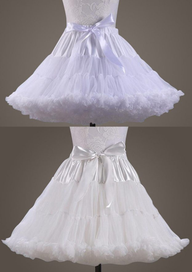 Ball Gown 3 Layers Short/Mini Tulle Bridal Petticoats