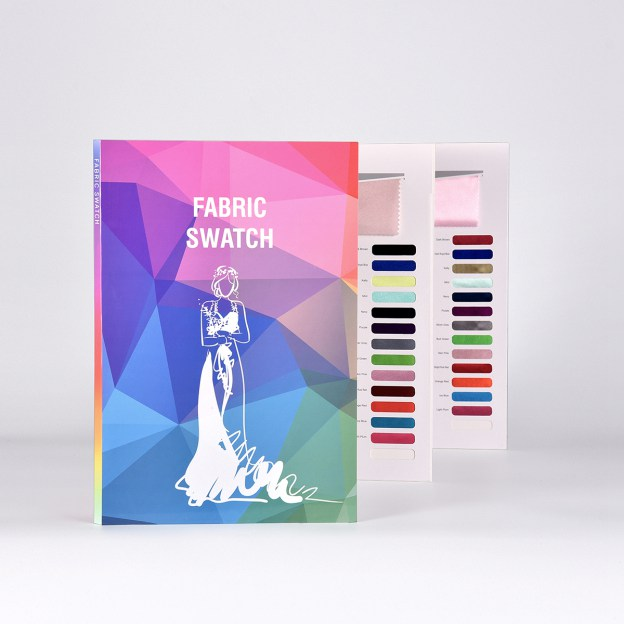 5-Piece*41-Color Fabric Swatch Book(Size:380Mm*250Mm*12Mm) (M110005) -FeelTimes