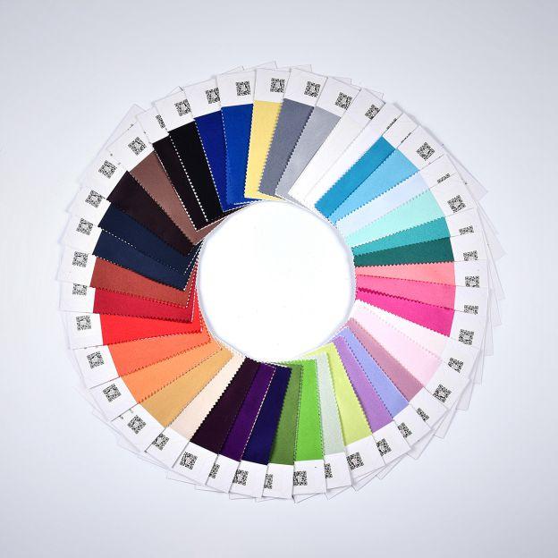 4 Kinds Of Fabrics (Satin/ Chiffon/ Taffeta/ Charmeuse) In One Piece 130Mm*180Mm - FeelTimes
