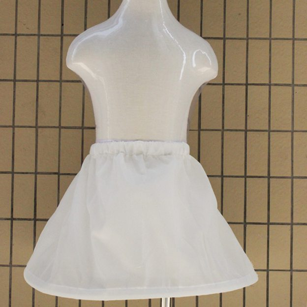 A-line/Princess Slip 1 Hoop 1 Tier Polyester Long/Floor-length Petticoats For Girl