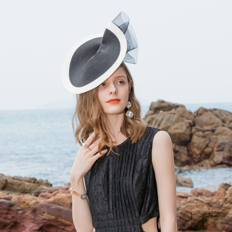 Ladies' Elegant/Pretty Pp Fascinators/Tea Party Hats With Tulle