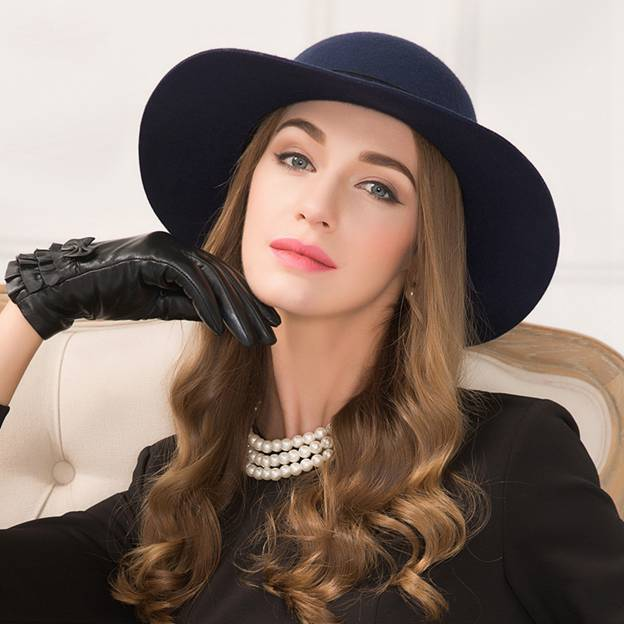 Ladies' Classic/Elegant Wool Bowler/Cloche Hats