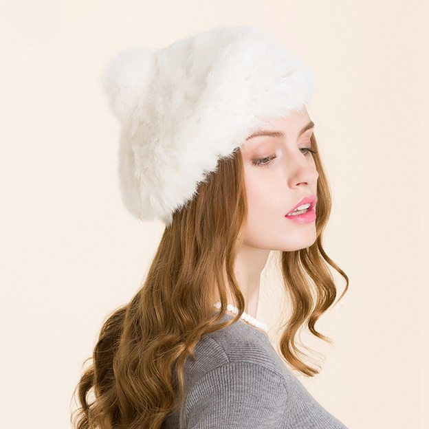 Ladies' Lovely/Simple Cony Hair Floppy Hats/Beanie/Slouchy