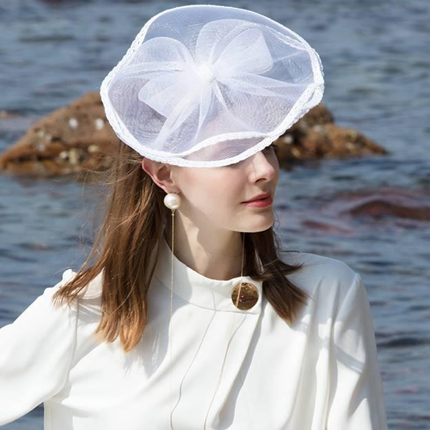Ladies' Glamourous/Elegant Polyester Fascinators/Tea Party Hats