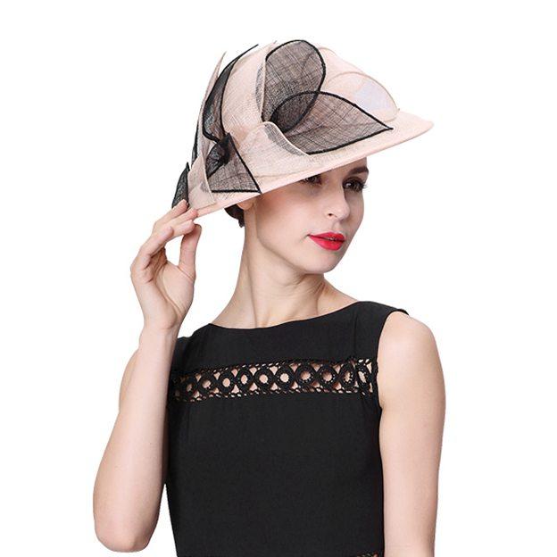 Ladies' Elegant/Beautiful Linen Beach/Sun Hats