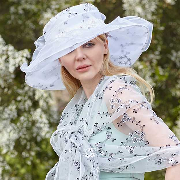 Ladies' Beautiful/Elegant Organza Organza Hat/Kentucky Derby Hats With Imitation Pearls Bowknot Flower