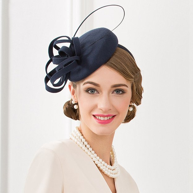 Ladies' Elegant/Charming Wool Tea Party Hats/Fascinators