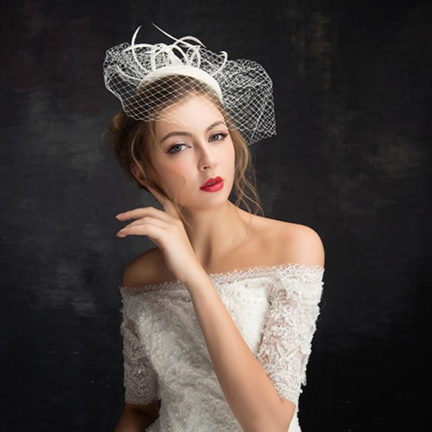 Ladies' Beautiful/Nice Cambric Fascinators With Tulle