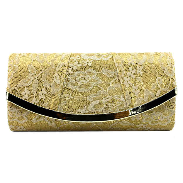 Attractive Lace Clutches/Evening Bags With Sequin