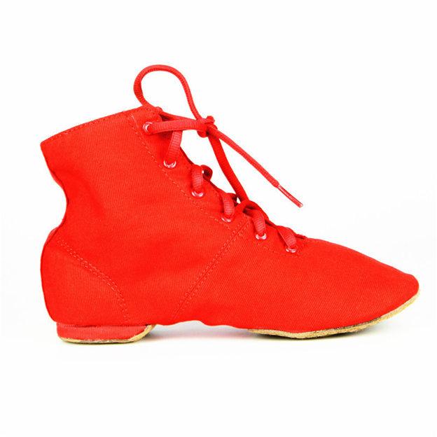 Unisex Canvas Close Toe Dance Shoes