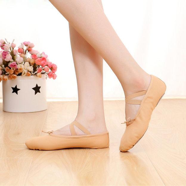 Unisex/Kids' Canvas Close Toe/Flats Dance Shoes