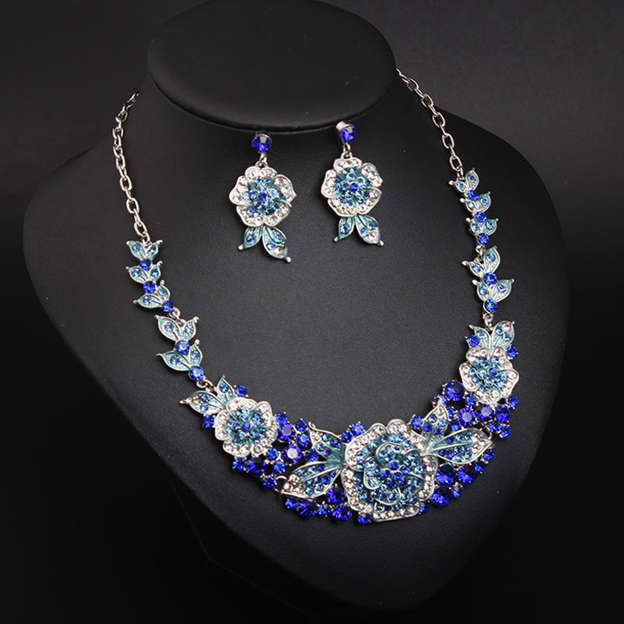 Women's Attractive Alloy Jewelry Sets With Rhinestone For Her/For Mother